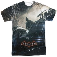 Batman: Arkham Knight: Into The Night Sublimated T-Shirt