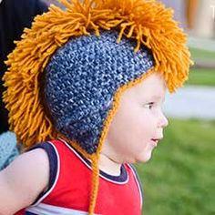 Gratis dwonloaden: Mohawk hat amigurumi crochet pattern