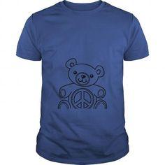 I Love Teddy Bear Coloring T-shirt T-Shirts