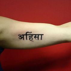 Ahimsa tattoo #tattoo #tattooartist #artist #art #ink #inked #whiteraventattoo…