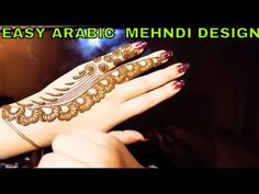 Hi Girls, I have made this khaleej style tattoo pattern which is very easy to make, You don't need birds and flowers to create alluring designs; Easy Mehndi, Simple Arabic Mehndi Designs, Henna Designs, Mehndi Video, Design Youtube, Happy New Year, Tattoos, Tutorials, Quotes