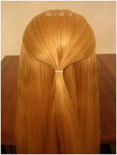 Original hairstyle in 5 minutes. Beginning. Figure 1. http://beauty-health.info