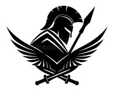 Illustration of armor - Spartan black sign. Illustration of armor – 84722906 Spartan black sign. Spartan black sign on a white background , - Tattoo Drawings, Body Art Tattoos, Tribal Tattoos, Sleeve Tattoos, Spartan Logo, Spartan Tattoo, Spartan Warrior, Spartan Shield, Warrior Tattoos