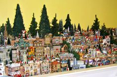 Christmas Village Display Tips | Christmas Shop, Decorations, Trees, Ornaments, Dept. 56, Byers' Choice ...