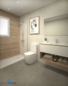 Proyecto de reforma de baño en calle Clotet de L'Hospitalet - Grupo Inventia