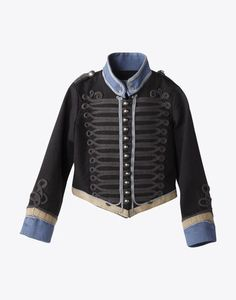 I have wanted to get this Stella McCartney military jacket for my son since he was born, but it never goes on sale