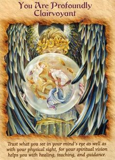 Free Angel Reading: You Are Profoundly Clairvoyant