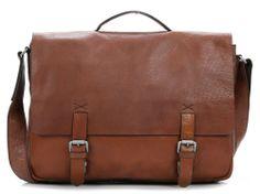 Greenford 17'' Aktentasche mit Laptopfach Leder cognac 39 cm