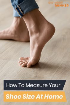 How To Measure Your Shoe Size At Home Best Running Shoes, Running Gear, Running Workouts, Workout Gear, Half Marathon Training, Marathon Running, Size Chart For Kids, How To Measure Yourself, Wide Shoes