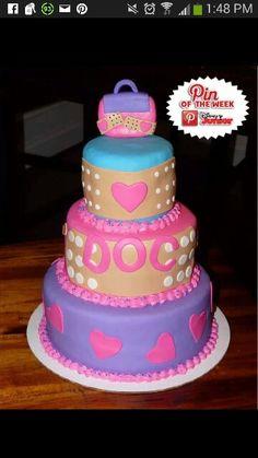 Doc MacStuffins Cake