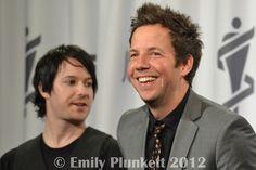 Pre-Awards Gala: David Desrosiers, Pierre Bouvier (Simple Plan) by Miss Emily Jane, via Flickr