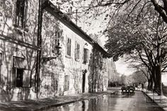 Pavol Poljak - Slnko na Rázusovej ulici (1930-1940) Bratislava, Black And White, Retro, Times, Nostalgia, Vintage, Historia, Fotografia, Black N White