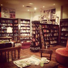 new edition bookstore, cozy!