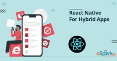 React Native For Hybrid App is the new beginning giving an end to Hybrid apps because of its great features overcoming all the challenges that hybrid apps have been facing. The growth that many industrial giants are experiencing is due to the React native application. The UI & UX that it provides cannot be compared to any other source that has been present. Application Development, Mobile Application, App Development, React Native, Ui Elements, Ui Ux, New Beginnings, User Interface, Nativity