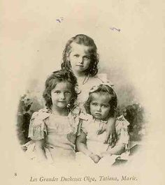 Tatiana, Olga and Maria