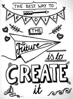 Hand lettering - Future