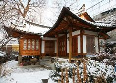 Korean traditional house (한옥) :: Didn't SHINee live here during Hello Baby? Lol