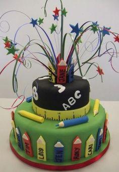 6. Bak een speciale taart voor als ze thuis komen
