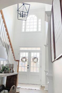 Foyer light from Savoy House designed by Kristen Myers #lighting #lighthome #lightsforhome #hallwaylights #ambiancelighting #homelightingideas #light #fixtures #interiorhome #interiordecoratin