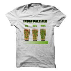 India Pale Ale T-Shirts, Hoodies. Check Price Now ==► https://www.sunfrog.com/Drinking/India-Pale-Ale.html?id=41382