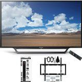 #10: Sony KDL-32W600D 32-Inch Class HD TV with Built-in Wi-Fi Slim Flat Wall Mount Bundle includes Television Slim Flat Wall Mount Ultimate Kit and Power Strip with Dual USB Ports