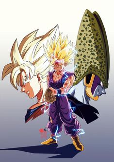 Dragonball, - Z, - GT, - Super How To Achieve a High Home Improvement Value People purchase houses f Dragon Ball Z, Power Rangers, Super Movie, Naruto Vs Sasuke, Son Goku, Dbz Gohan, Goku 2, Goku Super, Illustrations