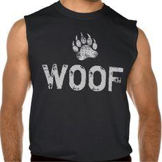 Gay Bear Pride distressed Bear Paw WOOF Sleeveless T Shirt, Hoodie Sweatshirt