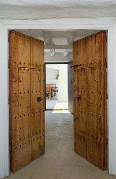 reclaimed doors, yes please