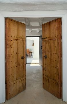 reclaimed doors, yes please