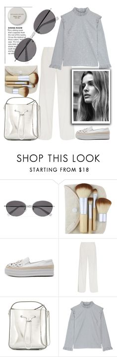 """""""White..."""" by grinevagh ❤ liked on Polyvore featuring Benjamin Moore, Elizabeth and James, Calvin Klein Collection, 3.1 Phillip Lim and Rejina Pyo"""