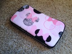 Minnie Mouse baby wipes case :)