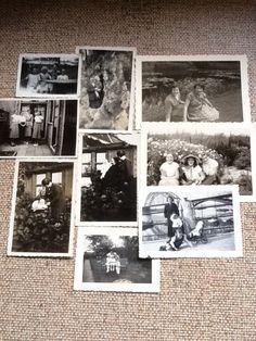 foto's van vroeger.