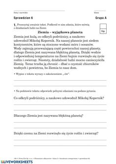 Czytanie ze zrozumieniem online worksheet for 3. You can do the exercises online or download the worksheet as pdf. Thing 1, School Subjects, Your Teacher, Google Classroom, You Can Do, Worksheets, Language, Pdf, Polish