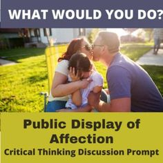 Get students thinking and talking with this single creative hypothetical What Would You Do? hypothetical situation. Imagine you're in an elevator with a couple when they suddenly start holding hands and being affectionate. What do you do? Ignore them? Get upset?