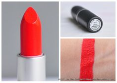 """Lady Danger"". My favorite lipstick that I own! I wore this all of this past winter."