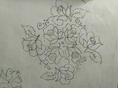 Big Rangoli Designs, Free Hand Rangoli Design, Beautiful Rangoli Designs, Rangoli With Dots, Simple Rangoli, Hand Embroidery Designs, Embroidery Patterns, Happy New Year Pictures, Muggulu Design