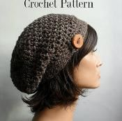 HDC Button Tab Sloucy Hat