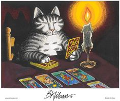 Kliban's Cats Comic Strip, January 31, 2013 on GoComics.com