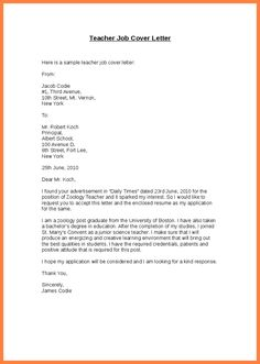 Resignation Letter  English Teaching Ideas