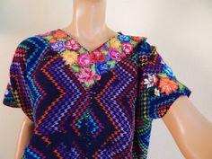 Vintage Huipol Guatamalan Blouse by stilettoRANCH on Etsy