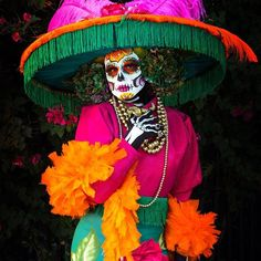 Sugar Skull Images, Little Havana, Jewish Museum, Things To Do, Good Things, Maquillage Halloween, National Treasure, Halloween Disfraces, Day Of The Dead