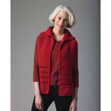 Lion's Pride® Woolspun® Crochet Vest (Level 1)