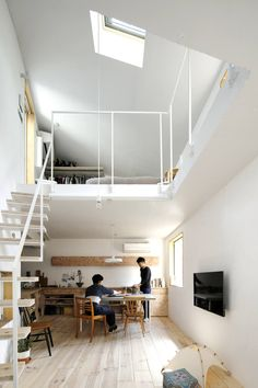 Vertical Alley: A Live/Work Tower for Two in Tokyo - Remodelista