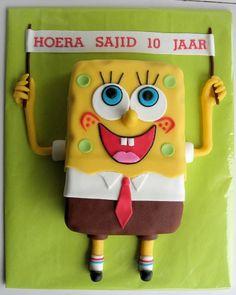 """Nijntje 3D, strand en Spongebob (Pagina 1) - Taarten Parade - Het """"DeLeuksteTaarten"""" - forum"""
