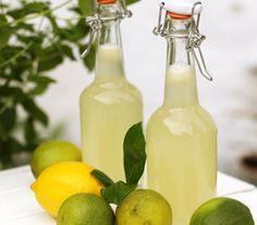 Hurtig og nem hjemmelavet limonade