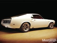 """1969 Ford Mustang """"Anvil"""" built by Steve Strope at Pure Vision Design"""
