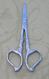 "4"" Leave Scissors Silver Special - $8"