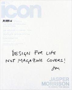 Magazine Cover Design typographic