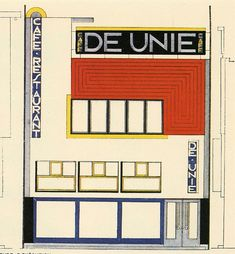 Bizarrism & eye contact (Drawing for De Unie in Rotterdam by J.J.P...)