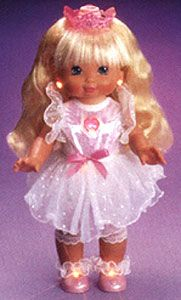 starbright sparkles doll | She projects star, moon and heart light patterns onto the ceiling!""